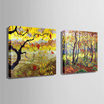 Unique Flowers Trees Print 2pcsPrints<br>Unique Flowers Trees Print 2pcs<br><br>Craft: Print<br>Form: Two Panels<br>Material: Canvas<br>Package Contents: 2 x Print<br>Package size (L x W x H): 40.00 x 40.00 x 5.50 cm / 15.75 x 15.75 x 2.17 inches<br>Package weight: 0.7000 kg<br>Painting: Include Inner Frame<br>Product size (L x W x H): 30.00 x 30.00 x 2.00 cm / 11.81 x 11.81 x 0.79 inches<br>Product weight: 0.5000 kg<br>Shape: Square<br>Style: Modern<br>Subjects: Landscape<br>Suitable Space: Bedroom,Cafes,Dining Room,Hotel,Kids Room,Living Room,Office
