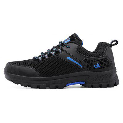 Men Outdoor Mesh Durable Hiking Athletic ShoesAthletic Shoes<br>Men Outdoor Mesh Durable Hiking Athletic Shoes<br><br>Closure Type: Lace-Up<br>Contents: 1 x Pair of Shoes, 1 x Box<br>Function: Slip Resistant<br>Materials: Rubber, Mesh<br>Occasion: Sports, Riding, Outdoor Clothing, Casual, Running, Daily, Holiday<br>Outsole Material: Rubber<br>Package Size ( L x W x H ): 30.00 x 20.00 x 12.00 cm / 11.81 x 7.87 x 4.72 inches<br>Package weight: 0.8000 kg<br>Product weight: 0.7500 kg<br>Seasons: Autumn,Spring,Summer<br>Style: Modern, Leisure, Fashion, Comfortable, Casual<br>Toe Shape: Round Toe<br>Type: Hiking Shoes<br>Upper Material: Mesh