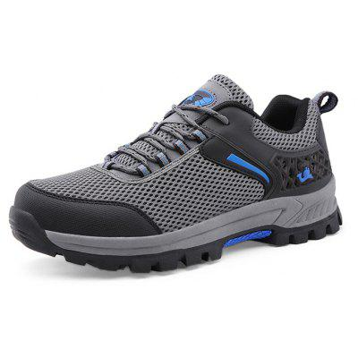 Men Outdoor Mesh Durable Hiking Athletic Shoes