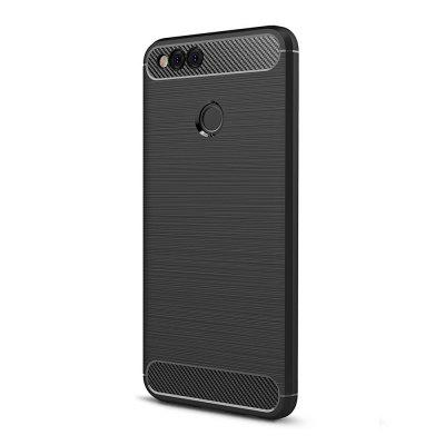 Naxtop Protective Phone Back Case for HUAWEI Honor 7XCases &amp; Leather<br>Naxtop Protective Phone Back Case for HUAWEI Honor 7X<br><br>Brand: Naxtop<br>Features: Anti-knock, Back Cover, Dirt-resistant<br>Mainly Compatible with: HUAWEI<br>Material: TPU, Carbon Fiber<br>Package Contents: 1 x Case<br>Package size (L x W x H): 17.00 x 10.00 x 2.00 cm / 6.69 x 3.94 x 0.79 inches<br>Package weight: 0.0400 kg<br>Product Size(L x W x H): 15.80 x 7.60 x 0.90 cm / 6.22 x 2.99 x 0.35 inches<br>Product weight: 0.0260 kg<br>Style: Modern