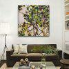 Canvas Modern Tree Art Decoration Print - GREEN