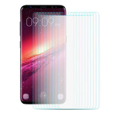 ENKAY Protective Film for Samsung Galaxy S9 10pcsSamsung S Series<br>ENKAY Protective Film for Samsung Galaxy S9 10pcs<br><br>Brand: ENKAY<br>Features: Ultra thin, Shock Proof, Protect Screen, High-definition, High Transparency, High sensitivity, Anti-oil, Anti scratch, Anti Glare, Anti fingerprint<br>Material: Tempered Glass<br>Package Contents: 10 x Tempered Glass, 10 x Dust Absorber, 10 x Cleaning Cloth, 10 x Alcohol Pad<br>Package size (L x W x H): 18.10 x 9.40 x 3.40 cm / 7.13 x 3.7 x 1.34 inches<br>Package weight: 0.2250 kg<br>Product weight: 0.0900 kg<br>Surface Hardness: 9H<br>Thickness: 0.26mm<br>Type: Screen Protector