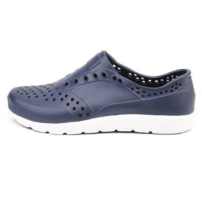 Men Outdoor Beach Hollow Driving Casual SandalsMens Sandals<br>Men Outdoor Beach Hollow Driving Casual Sandals<br><br>Closure Type: Slip-On<br>Contents: 1 x Pair of Shoes<br>Decoration: Hollow Out<br>Function: Slip Resistant<br>Materials: EVA<br>Occasion: Tea Party, Shopping, Rainy Day, Outdoor Clothing, Holiday, Daily, Beach, Casual<br>Outsole Material: EVA<br>Package Size ( L x W x H ): 30.00 x 20.00 x 10.00 cm / 11.81 x 7.87 x 3.94 inches<br>Package weight: 0.4200 kg<br>Pattern Type: Solid<br>Product weight: 0.4000 kg<br>Seasons: Spring,Summer<br>Style: Modern, Leisure, Fashion, Comfortable, Casual<br>Toe Shape: Round Toe<br>Type: Sandals<br>Upper Material: EVA