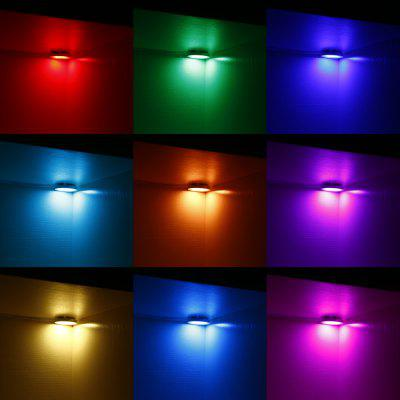 LED RGB Panel Light Round Dimmable for Kitchen 4PCS