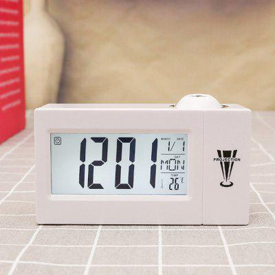 Voice Control Alarm Clock with LCD Display / Projection