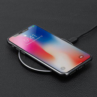 Minismile YF - K1 Qi Wireless Charger 10W Fast Charge PadChargers &amp; Cables<br>Minismile YF - K1 Qi Wireless Charger 10W Fast Charge Pad<br><br>Accessories type: Power Adapter<br>Colors: Black,White<br>Material: ABS, Aluminium Alloy<br>Model: YF-K1<br>Package Contents: 1 x Wireless Charger, 1 x Cable,1 x  English Instruction<br>Package size (L x W x H): 16.40 x 12.60 x 3.20 cm / 6.46 x 4.96 x 1.26 inches<br>Package weight: 0.1050 kg<br>Product size (L x W x H): 9.90 x 9.90 x 0.60 cm / 3.9 x 3.9 x 0.24 inches<br>Product weight: 0.0520 kg