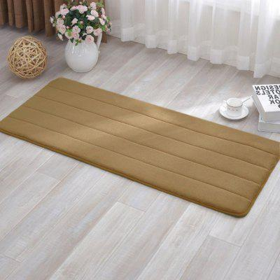 Anti-skid Memory Foam Bath MatCarpets &amp; Rugs<br>Anti-skid Memory Foam Bath Mat<br><br>Category: Carpet,Mat<br>For: All<br>Material: Cotton, Others, Polyester fibre<br>Occasion: Office, Living Room, Kitchen Room, Dining Room, Bedroom, Bathroom<br>Package Contents: 1 x carpet<br>Package size (L x W x H): 20.00 x 25.00 x 5.00 cm / 7.87 x 9.84 x 1.97 inches<br>Package weight: 0.2200 kg
