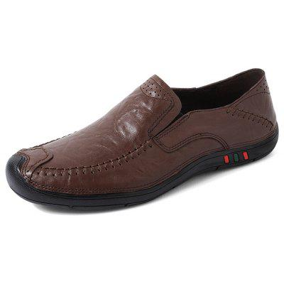 Men Well-matched Soft Driving Casual Oxford Shoes