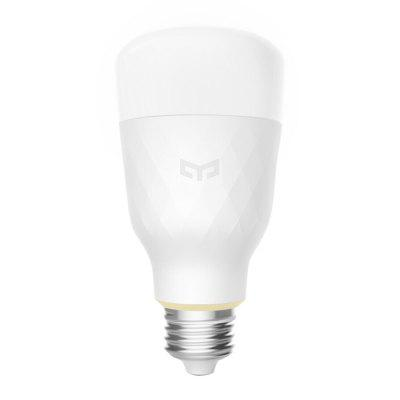 Yeelight YLDP05YL Smart LED Bulb Dimmable AC 100 - 240V 10WLED Light Bulbs<br>Yeelight YLDP05YL Smart LED Bulb Dimmable AC 100 - 240V 10W<br><br>Available Light Color: Warm White,White<br>Brand: Yeelight<br>Color Temperature or Wavelength: 2700 - 6500K<br>Features: Timer, Long Life Expectancy, Energy Saving, Easy to use, Dimming, APP Control<br>Function: Home Lighting, Commercial Lighting, For Office and Teaching<br>Lifespan: 25000h<br>Luminous Flux: 800LM<br>Model: YLDP05YL<br>Output Power: 10W<br>Package Contents: 1 x Yeelight Smart Bulb<br>Package size (L x W x H): 7.00 x 7.00 x 14.00 cm / 2.76 x 2.76 x 5.51 inches<br>Package weight: 0.2200 kg<br>Product size (L x W x H): 6.50 x 6.50 x 13.00 cm / 2.56 x 2.56 x 5.12 inches<br>Product weight: 0.1950 kg<br>Sheathing Material: Aluminum, PC<br>Voltage (V): AC 100-240V