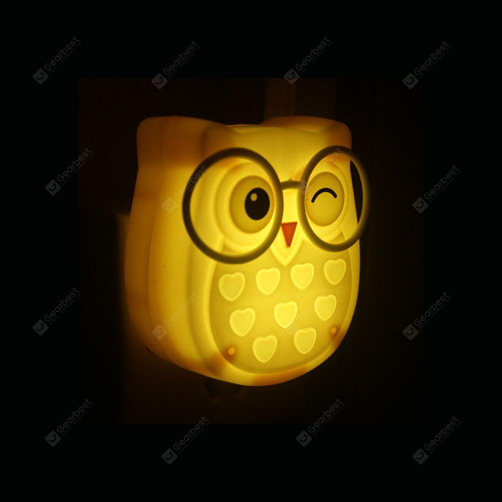BRELONG Owl LED Sensing Night Light