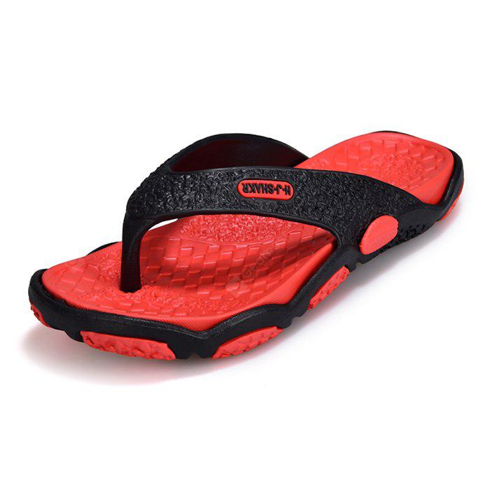 Men Trendy Splicing Beach Flip-flops Slipper