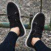 Men Cool Lightweight Sporty Sneakers - BLACK WHITE