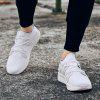 Men Cool Lightweight Sporty Sneakers - WHITE