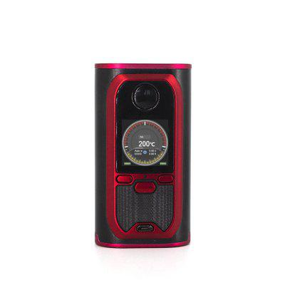 Modefined Lost Vape Modefined Lyra 200W Box Mod- RED WITH BLACK