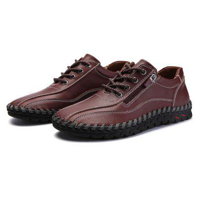 Men Stylish Soft Business Driving Oxford Shoes
