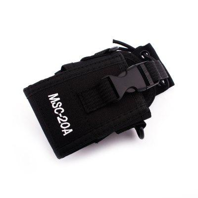 Hysobo MSC - 20A Universal Walkie Talkie Protective BagWalkie Talkies Accessories<br>Hysobo MSC - 20A Universal Walkie Talkie Protective Bag<br><br>Brand: Hysobo<br>Package Contents: 1 x Protective Bag, 1 x Strap, 1 x English Manual<br>Package Dimension: 8.00 x 8.00 x 15.00 cm / 3.15 x 3.15 x 5.91 inches<br>Package weight: 0.1000 kg<br>Product Dimension: 6.50 x 4.50 x 12.50 cm / 2.56 x 1.77 x 4.92 inches<br>Product weight: 0.0900 kg