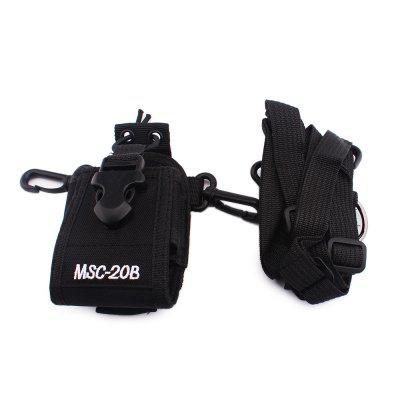 Hysobo MSC - 20B Universal Walkie Talkie Protective BagWalkie Talkies Accessories<br>Hysobo MSC - 20B Universal Walkie Talkie Protective Bag<br><br>Brand: Hysobo<br>Package Contents: 1 x Protective Bag, 1 x Strap<br>Package Dimension: 7.00 x 7.00 x 15.00 cm / 2.76 x 2.76 x 5.91 inches<br>Package weight: 0.1100 kg<br>Product Dimension: 6.50 x 5.50 x 13.00 cm / 2.56 x 2.17 x 5.12 inches<br>Product weight: 0.1000 kg