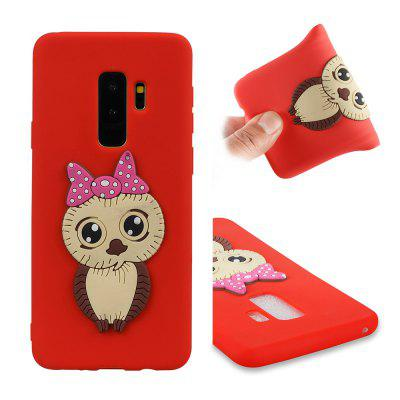 Dirt-proof Owl Pattern Back Cover for Samsung Galaxy S9 Plus
