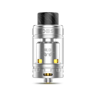 Buy OBS Crius II Dual Coil RTA SILVER for $27.22 in GearBest store