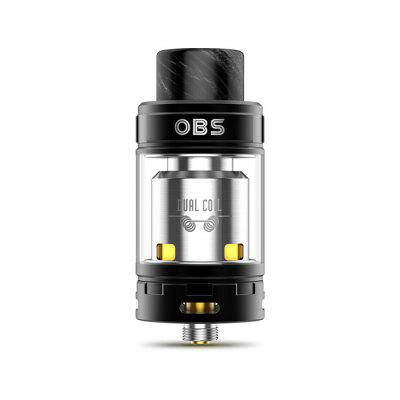 Buy OBS Crius II Dual Coil RTA BLACK for $27.22 in GearBest store