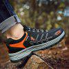 HOMASS Men Outdoor Athletic Hiking Shoes - BLACK