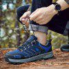 HOMASS Men Outdoor Athletic Hiking Shoes - BLUE
