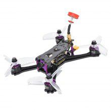 Geniuser 160mm FPV Racing Drone with F4 FC 3-4S BLHeli_S 28A ESC