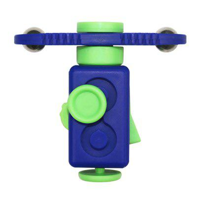 Stress Relief Magic Cube Gyro Spinner Finger Fidget Toy
