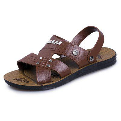 Men Stylish Soft Outdoor Beach Sandals Slippers