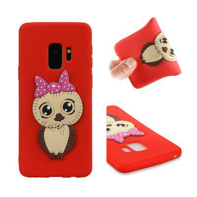 Dirt-proof Owl Pattern Back Cover for Samsung Galaxy S9