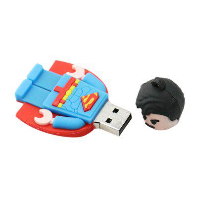 Cartoon Man Shape USB2.0 Flash Drive U Disk