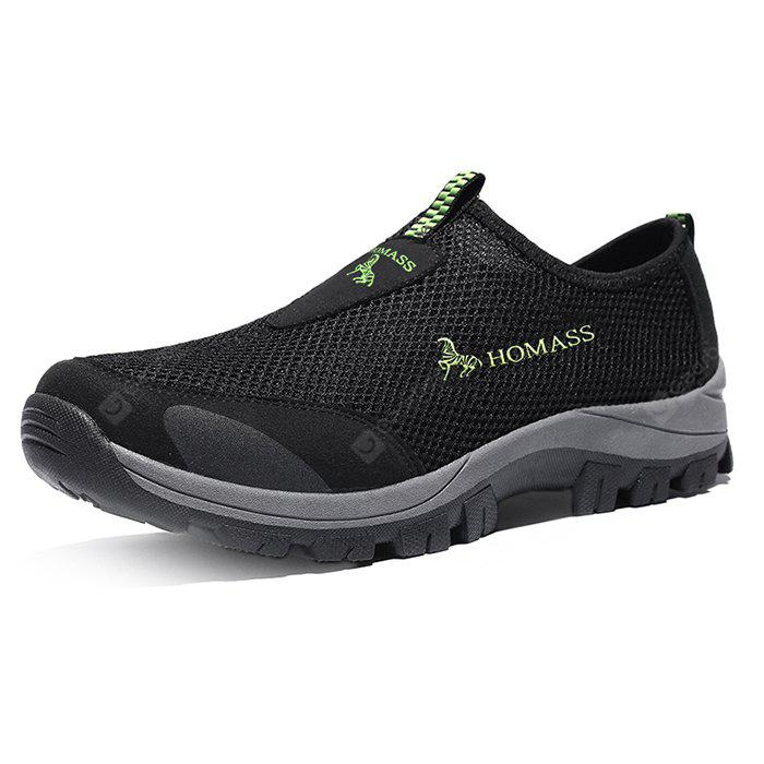 HOMASS Men Outdoor Water Mesh Hiking Sneakers