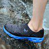 HOMASS Couple Lightweight Mesh Water Sneakers - BLACK