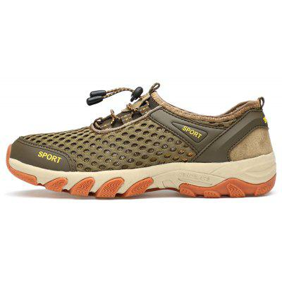 Men Outdoor Trendy Anti-slip Breathable SneakersMen's Sneakers<br>Men Outdoor Trendy Anti-slip Breathable Sneakers<br><br>Closure Type: Elastic band<br>Contents: 1 x Pair of Shoes, 1 x Box<br>Function: Slip Resistant<br>Materials: Mesh Fabric, Rubber<br>Occasion: Casual, Sports, Shopping, Running, Riding, Daily<br>Outsole Material: Rubber<br>Package Size ( L x W x H ): 33.00 x 22.00 x 11.00 cm / 12.99 x 8.66 x 4.33 inches<br>Package weight: 0.7500 kg<br>Product weight: 0.6000 kg<br>Seasons: Autumn,Spring,Summer<br>Style: Leisure, Fashion, Comfortable<br>Toe Shape: Round Toe<br>Type: Sports Shoes<br>Upper Material: Mesh Fabric