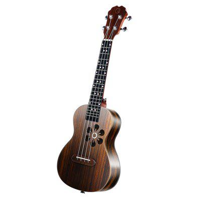Populele S1 Smart Ukulele for Beginner Adults  -  BURLYWOOD