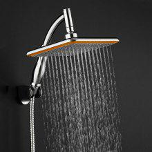 gocomma Modern 9 Inch Square Bathroom Rain Shower Head