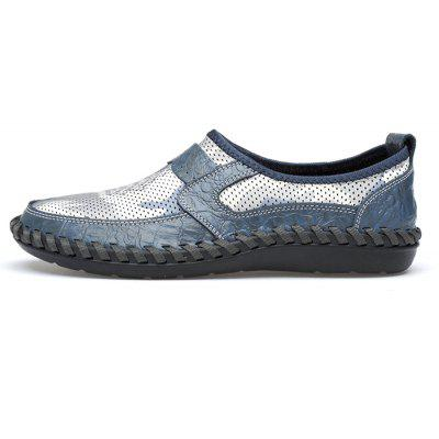 Men Lightweight Mesh Print Casual Flat Shoes new swing shoes women flat platform shoes zapatillas mujer breathable air mesh summer casual shoes woman m8902