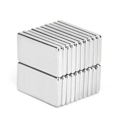 20 x 10 x 2mm N52 NdFeB Cuboid Magnet Fidget Toy for DIY 20pcs
