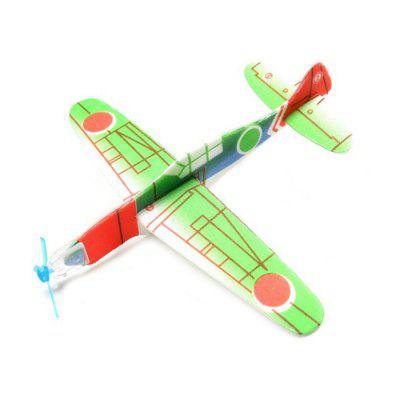 Foam Hand-throwing Whirly Glider Airplane Model Toy foam