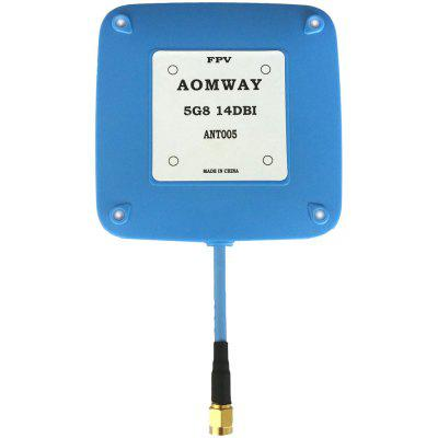AOMWAY ANT005 5.8GHz 14dBi RHCP Patch Antenna