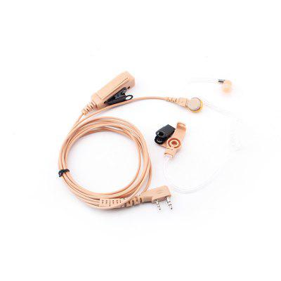 Hysobo Concealed Rectangular Clip Air Duct Headset Earphone