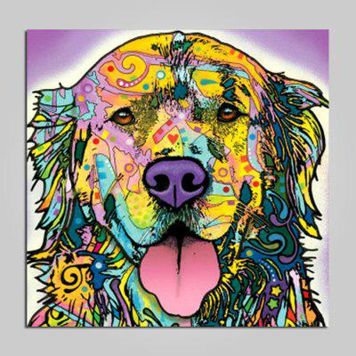 Unframed Lovely Dog Pattern Print