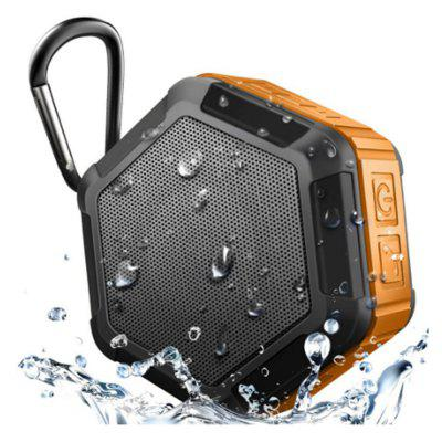 Portable Wireless Outdoor Shower Bluetooth 4.0 Speaker with IP67 Waterproof Function