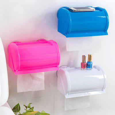Waterproof Plastic Toilet Paper Box Wall Mount Tissue HolderOther Bathroom Accessories<br>Waterproof Plastic Toilet Paper Box Wall Mount Tissue Holder<br><br>Functions: Bathroom<br>Materials: Plastic<br>Package Contents: 1 x Toilet Paper Box<br>Package Size(L x W x H): 23.00 x 13.00 x 13.00 cm / 9.06 x 5.12 x 5.12 inches<br>Package weight: 0.2500 kg<br>Product Size(L x W x H): 21.50 x 12.50 x 12.00 cm / 8.46 x 4.92 x 4.72 inches<br>Product weight: 0.2300 kg<br>Types: Storage Boxes and Bins