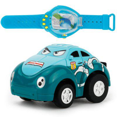 8022 1:58 Mini Watch Gravity Induction Cartoon RC Car
