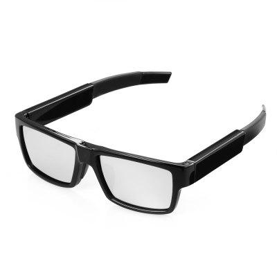 TJL - G2 1080P HD Digital Camera Video Recording Glasses - BLACK