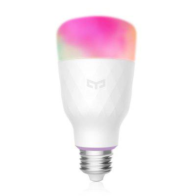YEELIGHT YLDP06YL Smart Light Bulb 10W RGB E27Smart Lighting<br>YEELIGHT YLDP06YL Smart Light Bulb 10W RGB E27<br><br>Available Light Color: RGBW<br>Brand: Yeelight<br>Color Temperature or Wavelength: 1700 - 6500K<br>Features: WiFi, Timer, Remote Control, Energy Saving, Easy to use, APP Control<br>Function: Studio and Exhibition Lighting<br>Lifespan: 25000h<br>Luminous Flux: 800lm<br>Model: YLDP06YL<br>Output Power: 10W<br>Package Contents: 1 x Light Bulb, 1 x English User Manual<br>Package size (L x W x H): 9.00 x 9.00 x 20.00 cm / 3.54 x 3.54 x 7.87 inches<br>Package weight: 0.2200 kg<br>Product size (L x W x H): 6.50 x 6.50 x 13.00 cm / 2.56 x 2.56 x 5.12 inches<br>Product weight: 0.1950 kg<br>Sheathing Material: Aluminum Alloy<br>Voltage (V): AC 100-240V