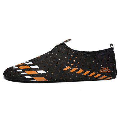 Couple Versatile Soft Elastic Water Swimming Flat ShoesFlats &amp; Loafers<br>Couple Versatile Soft Elastic Water Swimming Flat Shoes<br><br>Closure Type: Slip-On<br>Contents: 1 x Pair of Shoes, 1 x Box<br>Function: Slip Resistant<br>Materials: Plastic, Cloth<br>Occasion: Sports, Shopping, Party, Outdoor Clothing, Casual, Rainy Day, Daily, Holiday, Office<br>Outsole Material: Plastic<br>Package Size ( L x W x H ): 28.00 x 14.00 x 10.00 cm / 11.02 x 5.51 x 3.94 inches<br>Package weight: 0.5000 kg<br>Product weight: 0.4000 kg<br>Seasons: Autumn,Spring,Summer<br>Style: Modern, Leisure, Fashion, Comfortable, Casual<br>Toe Shape: Round Toe<br>Type: Flat Shoes<br>Upper Material: Cloth