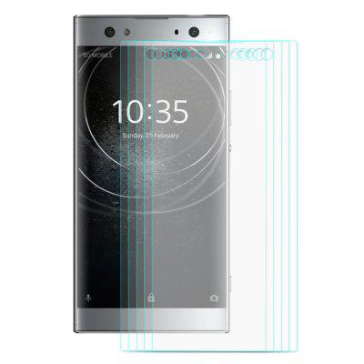 Hat - Prince Screen Film for Sony Xperia XA2 Ultra 5pcsScreen Protectors<br>Hat - Prince Screen Film for Sony Xperia XA2 Ultra 5pcs<br><br>Brand: Hat-Prince<br>Compatible Model: Xperia XA2 Ultra<br>Features: Ultra thin, Protect Screen, Anti-oil, Anti scratch, Anti fingerprint<br>Mainly Compatible with: Sony<br>Material: Tempered Glass<br>Package Contents: 5 x Tempered Glass Film, 5 x Cleaning Cloth, 5 x Dust Absorber, 5 x Alcohol Bag<br>Package size (L x W x H): 18.00 x 9.40 x 1.60 cm / 7.09 x 3.7 x 0.63 inches<br>Package weight: 0.1230 kg<br>Product weight: 0.0600 kg<br>Surface Hardness: 9H<br>Thickness: 0.26mm<br>Type: Screen Protector