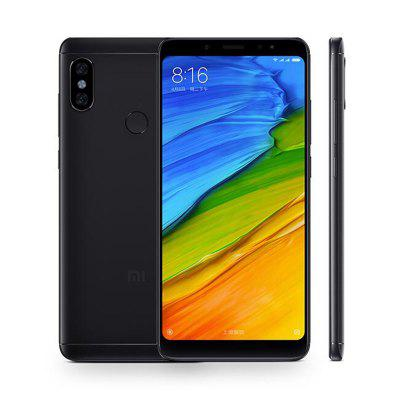 Gearbest Xiaomi Redmi Note 5 4G Phablet 3GB RAM Global Version - BLACK 32GB ROM Dual Rear Cameras Bluetooth 5.0 Fingerprint Recognition 4000mAh Battery